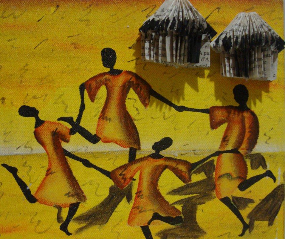 Tableau décoration  - Thème Afrique